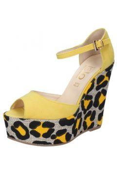 Sandales Islo sandales jaune daim BZ221(115393962)