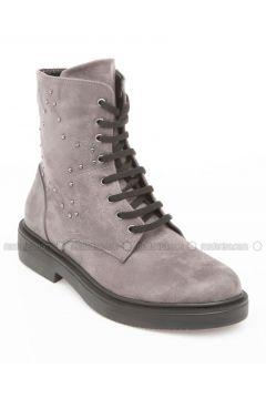 Gray - Boots - DeFacto(110332871)