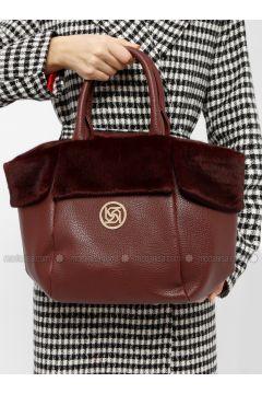 Maroon - Shoulder Bags - Kayra(110317962)