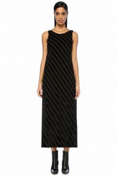 Beymen Club Sırtı Açık Midi Kadife Elbise(100683068)