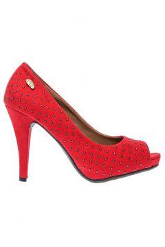 Xti Kırmızı Topuklu Ayakkabı(113968584)