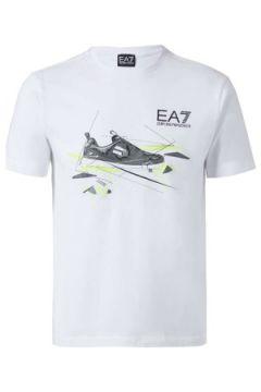 T-shirt Emporio Armani EA7 3ZPT50 PJM9Z T-shirt Man Blanc(115661951)