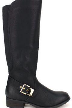 Bottes Cendriyon Bottes Noir Chaussures Femme(115425008)