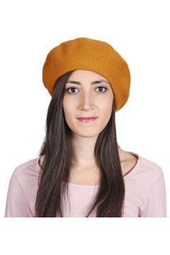 Bonnet Sacaly Béret Yva - Couleur - Moutarde(115545089)