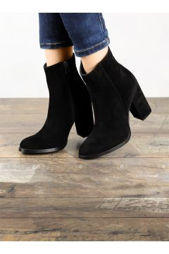 Black - Boot - Boots - Angelshe(110340359)