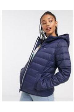 Tommy Jeans - Giacca trapuntata con zip e cappuccio blu navy(120389314)
