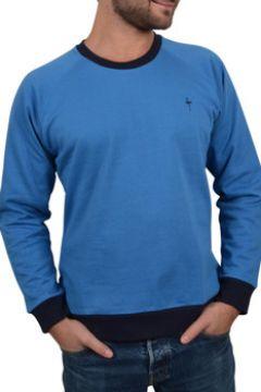 T-shirt Katz Outfitter Sweat homme Notellom Tee bleu et marine - Sweat manches longues(115397666)