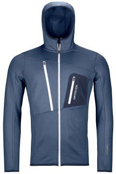 Ortovox Grid Hooded Fleece Jacket blauw(123262965)
