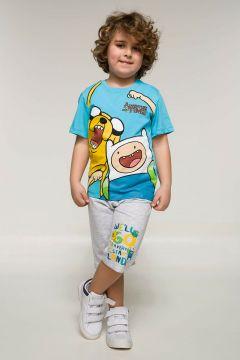 DeFacto Erkek Çocuk Adventure Time Lisanslı Takım(108638012)