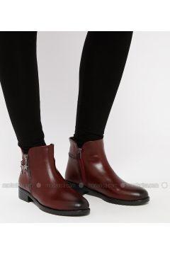 Maroon - Boot - Boots - Snox(110318994)