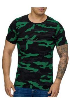 T-shirt Cabin T-shirt homme camouflage T-shirt 3178 vert et Noir(115398208)
