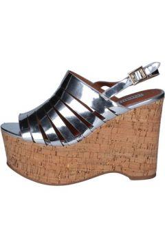 Sandales Emanuélle Vee sandales argent cuir BY146(115400960)