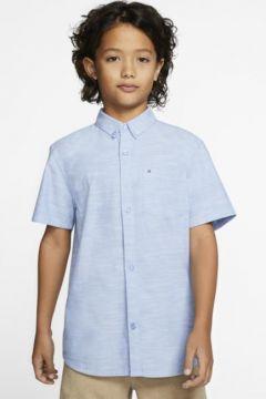 Hurley One And Only Kısa Kollu Erkek Çocuk Gömleği(109165357)