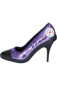 Chaussures escarpins Richmond escarpins pourpre paillettes noir cuir wh291(115443259)