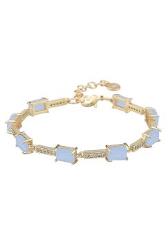 Satin St Brace Accessories Jewellery Bracelets Chain Bracelets Blau SNÖ OF SWEDEN(109243092)