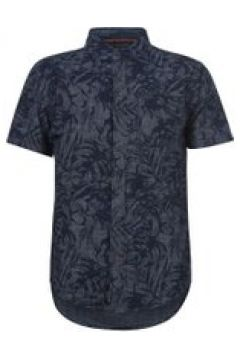 SoulCal Short Sleeve Shirt - Mid Blue Floral(107453620)