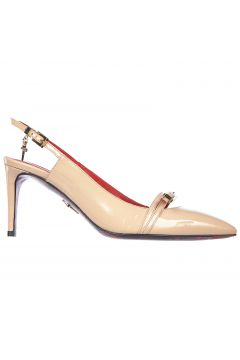 Women's leather pumps court shoes high heel vernice luce(118073756)
