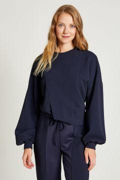 Sweat-shirt Vekem Bleu Marine(108581747)
