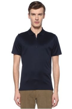 Pal Zileri Erkek Lacivert Polo Yaka Logolu T-shirt XL EU(108515950)