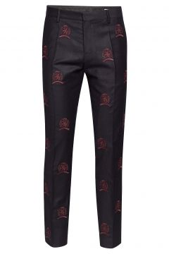 Hcm Suit Sep Pants Embroidery Anzughosen Businesshosen Blau HILFIGER COLLECTION(114153030)