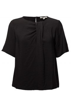 Fatima Blouses Short-sleeved Schwarz DAGMAR(114150487)