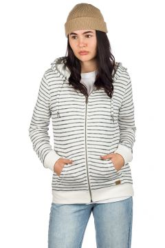 Roxy Trippin Stripes Zip Hoodie wit(117690827)