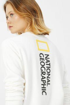 National Geographic Beyaz Sweatshirt(113995157)