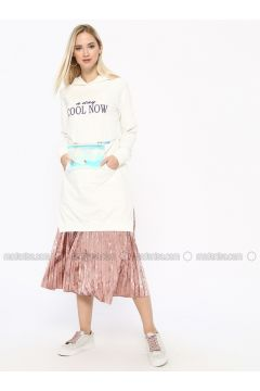 Cotton - White - Ecru - Sweat-shirt - Missemramiss(110330928)