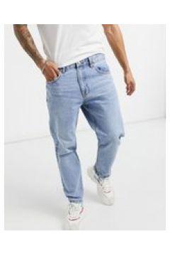 Bershka - Jeans vintage dritti blu slavato(127365420)