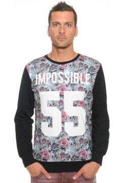 Sweat-shirt Celebry Tees Sweat Homme Col Rond Impossible 010(115454964)