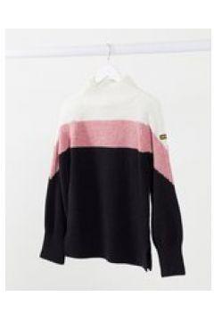 Barbour International - Cadwell - Maglione di lana accollato multicolore(123030571)