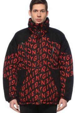 Givenchy Erkek Kırmızı Siyah Çift Taraflı Logo Desenli Puff Mont 46 IT(127545856)