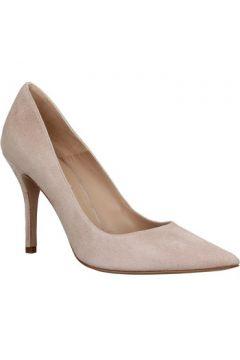 Chaussures escarpins Pura Lopez 650 velours Femme Beige(127941480)