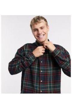 Reclaimed Vintage Inspired - Camicia giacca a quadri-Verde(123889809)