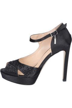 Sandales Liu Jo sandales noir satin strass BT443(115479008)