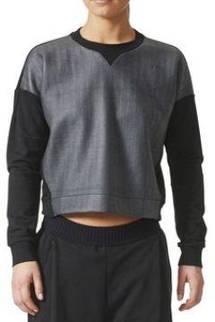 Sweat-shirt adidas Away Day Crew Felpa Nera Grigia(115439513)