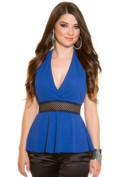 Blouses Cendriyon Tops Bleu Vêtements Femme(115468754)