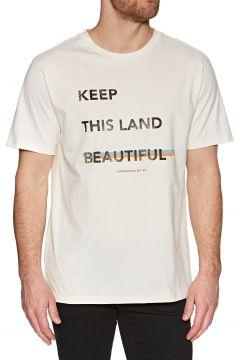 Lightning Bolt Beautiful Land Kurzarm-T-Shirt - White(110360429)