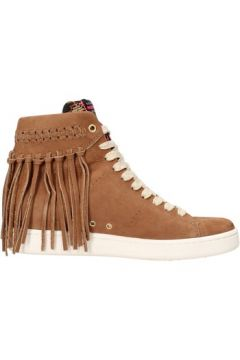Baskets Serafini sneakers marron cuir suédé AF854(115394035)