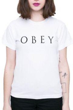 T-shirt Obey NOVEL BIANCA(127934335)
