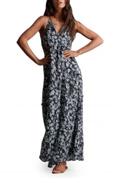 Robe Superdry Margaux Maxi - Navy Floral(117876023)