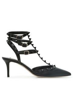 Valentino Garavani Kadın Rockstud Siyah Deri Topuklu Ayakkabı 36 EU(121159678)