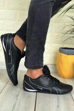 Conpax Siyah-beyaz Erkek Spor Ayakkabı(118438812)