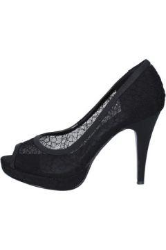 Chaussures escarpins Top Women escarpins noir textile AM859(98485705)