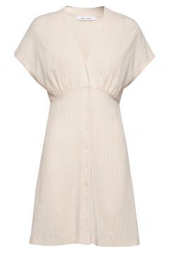 Valerie Short Dress 11238 Kleid Knielang Weiß SAMSØE SAMSØE(114164498)