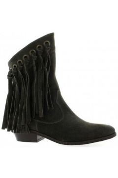 Bottines Just Juce Boots cuir velours(98529191)