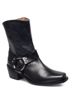 Hazel Leather Black Shoes Boots Ankle Boots Ankle Boots With Heel Schwarz HENRY KOLE(114159972)
