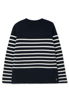 Sweat Femme Joules Valencia - Navy Multi Strip(121679483)