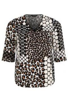 Shirtbluse mit Allover-Print seeyou panna(125023862)