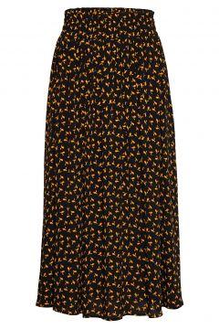 Veneda Maxi Skirt Knielanges Kleid Schwarz JUST FEMALE(107454510)